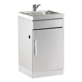 BeefEater Stainless Steel Cabinet with Sink - BD77010