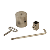 Counter Balance - Square Stainless Steel - Extend the Life of your Motor - CB-3078