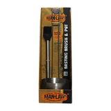 Man Law Basting Brush Kit - Stainless Steel Brush & Pot (MAN-H6)