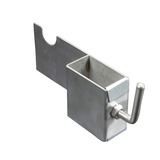 Left Skewer Support Bracket Stainless Steel Suit 40kg Motor - SSB-6004L