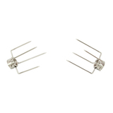Large 4 Prong Fork Set - 28mm Round - SSF-3081A
