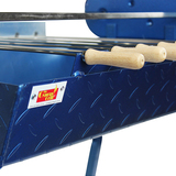 Cyprus Grill Mini - Deluxe Auto (Blue) with 13kg Capacity Commercial Grade Motor (Product of Cyprus) CG-0700A