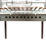 New Cyprus Grill / Souvla - Stainless Steel Charcoal Rotisserie Spit Package Deal (CG-0707)