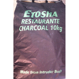 Etosha 10kg Charcoal Bag - Imported Timber Charcoal (Made of Intruder Bush from Namibia, Africa)