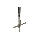 Heavy Duty Stainless Steel Tripod BBQ Rotisserie Spit System - Tripod Pillars Base Only - TBR-3068