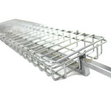 BarbeSkew II Rotating Cage - Great for Fish, Chicken, and Burgers - BRCS-2108