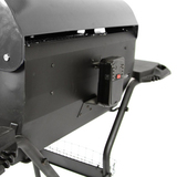 BarbeSkew - The Evolution of Charcoal Rotisseries with Height Adjustable Charcoal Tray and Hood - BS-1110