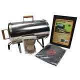 Muurikka Stainless Steel Electric Portable Smoker, Roaster, and Grill - MSS-0875