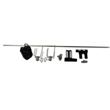 The BBQ Store 970mm Rotisserie Kit - 1pc Solid Skewer Shaft -  BSK-870