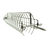 Fish chicken meat Skewer Rotating Cage / basket to suit Stainless Steel Cyprus Grill/Souvla BBQ/Rotisserie - FP-8080