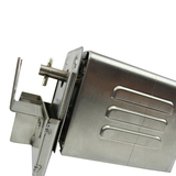 A40 Stainless Steel Rotisserie BBQ Spit Motor with Pin (30kg Capacity) with Mounting Bracket - SSM-3072A