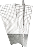 Stainless Steel Portuguese Chicken Basket for Big Spits suits 1.5M Skewer- SSRG-2016