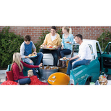 Beefeater Bugg Charcoal Solid Fuel BBQ (Amber Colour) with Bugg Trolley Base