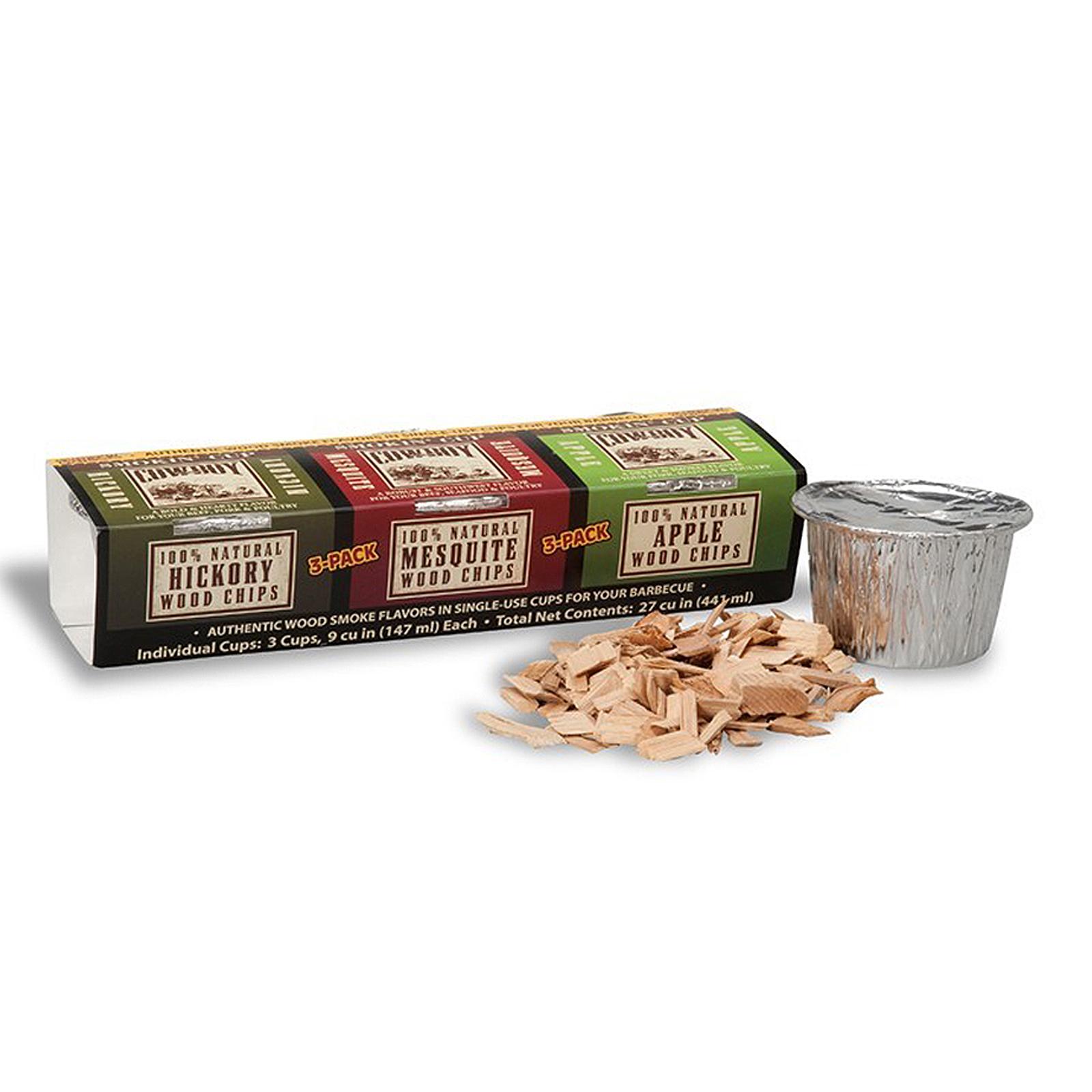 New Cowboy 3 Pk Smoking Wood Chip Cups 100 Natural Ebay
