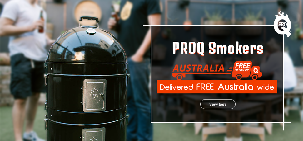 Pro Q Smokers Free Delivery