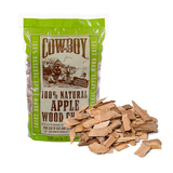 Cowboy Apple Wood Chips - 750g - 100% Natural - 51312T
