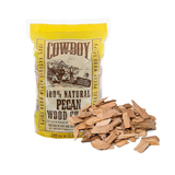 Cowboy Pecan Wood Chips - 750g - 100% Natural - 51512T
