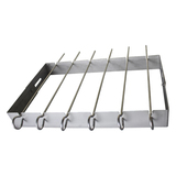 Electrolux 6pc Shish Kebab Rack & Skewers 316 grade stainless steel