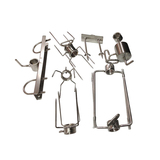 Stainless Steel Rotisserie BBQ Round 28mm Accessories Package