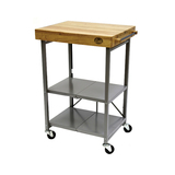 Bradley Smoker Trolley Cart - Foldable Stand for any BBQ or Smoker Appliance