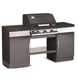 BeefEater 3 Burner Enamel Discovery 1100E Outdoor Kitchen - BD79532