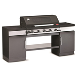 BeefEater 5 Burner Enamel Discovery 1100E Outdoor Kitchen - BD79552