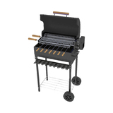 BarbeSkew II - Charcoal Rotisserie with Hood - BS-2110