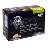 Bradley Apple Bisquettes 120 Pack - BTAP120