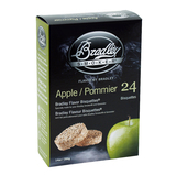 Bradley Apple Bisquettes 24 Pack - BTAP24