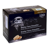 Bradley Hickory Bisquettes 120 Pack - BTHC120