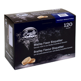Bradley Pacific Blend Bisquettes 120 Pack suit BBQ Gas, Electric or Charcoal Smokers
