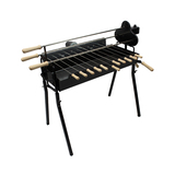 Cyprus Grill Deluxe Auto (Black) Souvla Package Deal with 20kg Variable Speed Motor (Product of Cyprus) CG-0704B