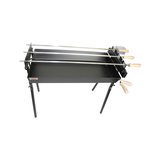 Special Edition Cyprus Grill Modern Rotisserie Spit with Rechargeable Motor