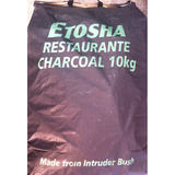 Etosha 10kg Charcoal Bag - Imported Timber Charcoal (Made of Intruder Bush from Namibia, Africa) - Charcoal10
