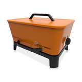 Everdure E-Churrasco Dual Fuel - Gas & Charcoal BBQ (Orange)  - ECHULPC14O