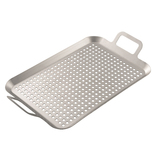 Hark Grill Plate - Stainless Steel with handles - HK0222