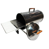 Muurikka Stainless Steel Electric Portable Smoker, Roaster, and Grill