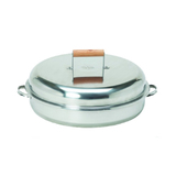 Muurikka Stainless Steel Smoking Pan. New Product (SKU: MSS-0878)