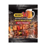 Beer 30 Spicy Chipotle Beer Marinade - 26g Sachet - Made in USA