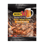 Beer 30 Citrus Pepper Beer Marinade - 26g Sachet - Made in USA