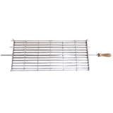 Cyprus Grill Portuguese Style Rotating Cage - 25cm Wide (Australian Made)