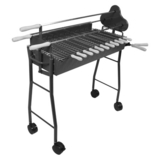 The BBQ Store Charcoal Rotisserie Spit - RS-1208