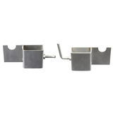 Skewer Support Bracket - Stainless Steel (Set of 2) - SSB-6002K