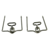 Long 2 Prong Fork Set - 28mm Round - SSF-3082A