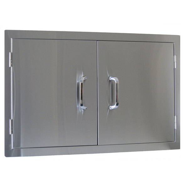 Beefeater Built In Stainless Steel 2 Door Outdoor Alfresco Kitchen Module