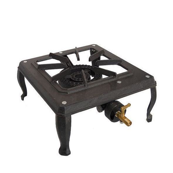 Bromic Single (1) Burner Country Cooker, 1/4 Male Connection, 12MJ Heat Output (2.75kpa) - CC100