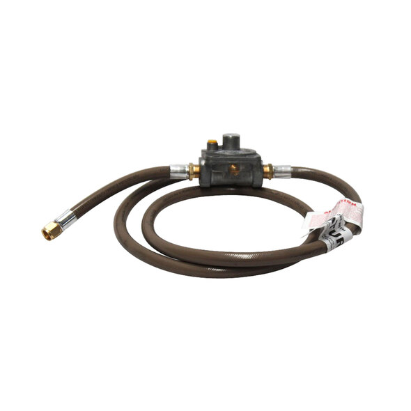 Bromic Universal Natural Gas Conversion Kit with 3/8 SAE Female Flare, 1500mm Hose 250Mj/hr Governor x 200mm Hose - NGCK4