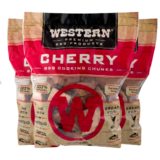 Western Cherry Smoking Wood Chunks - Made in the USA