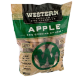 Western Apple Smoking Wood Chunks - Made in the USA