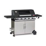 BeefEater Discovery 1100E 5 Burner Black Enamel Mobile BBQ with Trolley - BD47852
